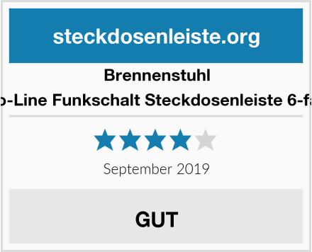 Brennenstuhl Eco-Line Funkschalt Steckdosenleiste 6-fach Test