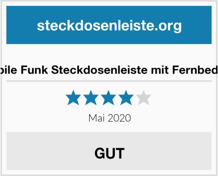 kwmobile Funk Steckdosenleiste mit Fernbedienung Test