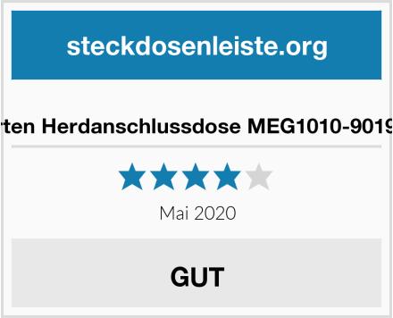 No Name Merten Herdanschlussdose MEG1010-9019 UP Test