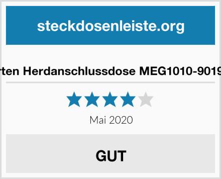 Merten Herdanschlussdose MEG1010-9019 UP Test