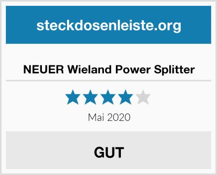 NEUER Wieland Power Splitter Test