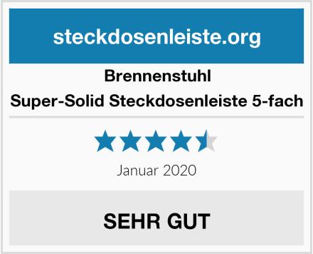 Brennenstuhl Super-Solid Steckdosenleiste 5-fach Test