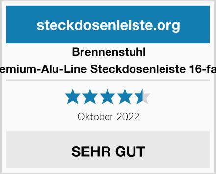 Brennenstuhl Premium-Alu-Line, Steckdosenleiste 16-fach Test