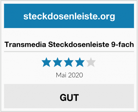 No Name Transmedia Steckdosenleiste 9-fach Test