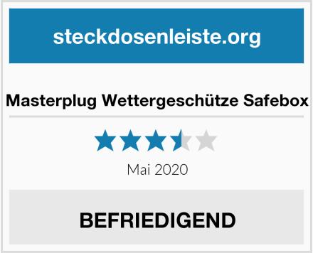 Masterplug Wettergeschütze Safebox Test