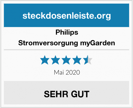 Philips Stromversorgung myGarden Test