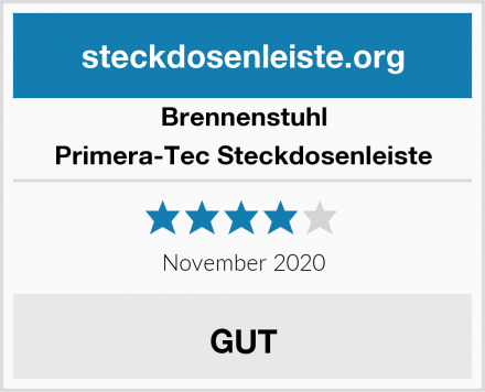 Brennenstuhl Primera-Tec Steckdosenleiste Test