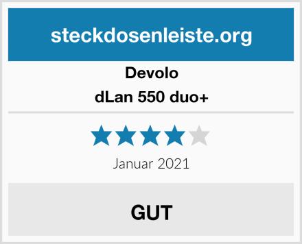 Devolo dLan 550 duo+ Test