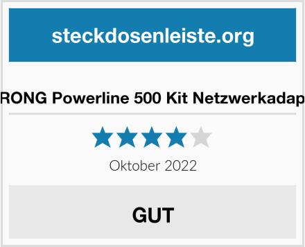 STRONG Powerline 500 Kit Netzwerkadapter Test
