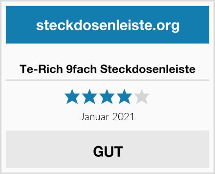 Te-Rich 9fach Steckdosenleiste Test