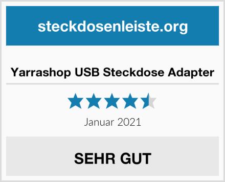 Yarrashop USB Steckdose Adapter Test