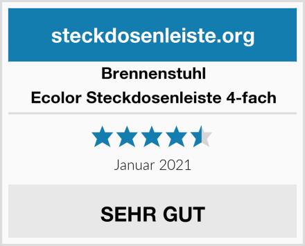 Brennenstuhl Ecolor Steckdosenleiste 4-fach Test