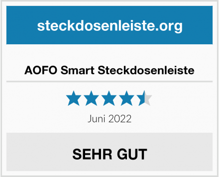 AOFO Smart Steckdosenleiste Test