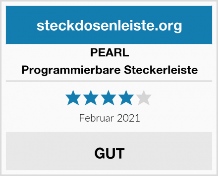 PEARL Programmierbare Steckerleiste Test