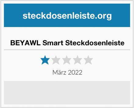 BEYAWL Smart Steckdosenleiste Test