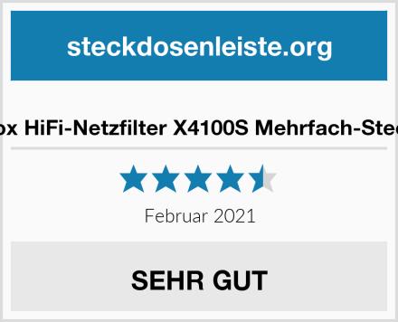 Dynavox HiFi-Netzfilter X4100S Mehrfach-Steckdose Test
