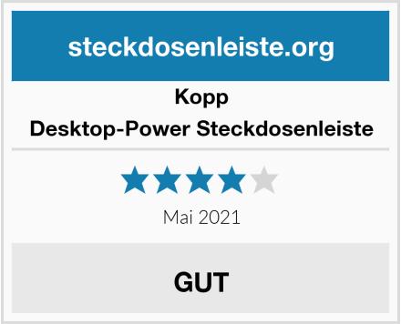 Kopp Desktop-Power Steckdosenleiste Test