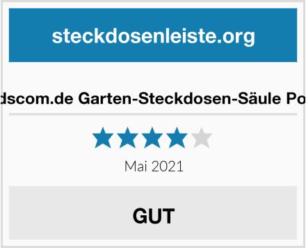 ledscom.de Garten-Steckdosen-Säule Polly Test