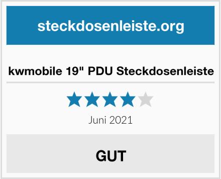 "kwmobile 19"" PDU Steckdosenleiste Test"