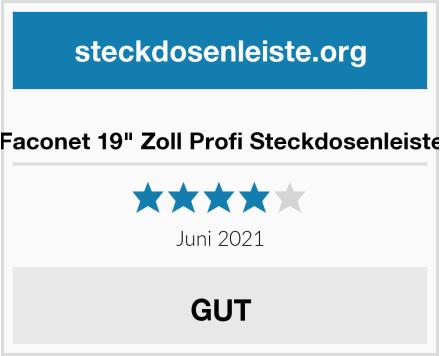 """Faconet 19"""" Zoll Profi Steckdosenleiste Test"""