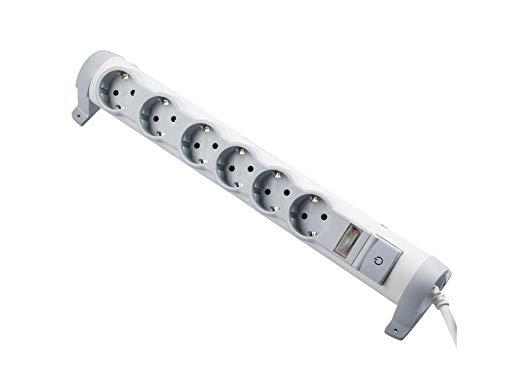 Legrand drehbare Steckdosenleiste mit Schutz vor Überlast
