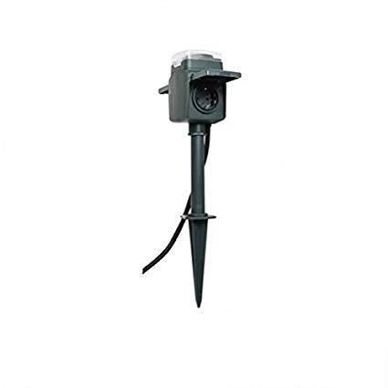 REV Ritter 0595008555 Erdspieß mit Steckdose