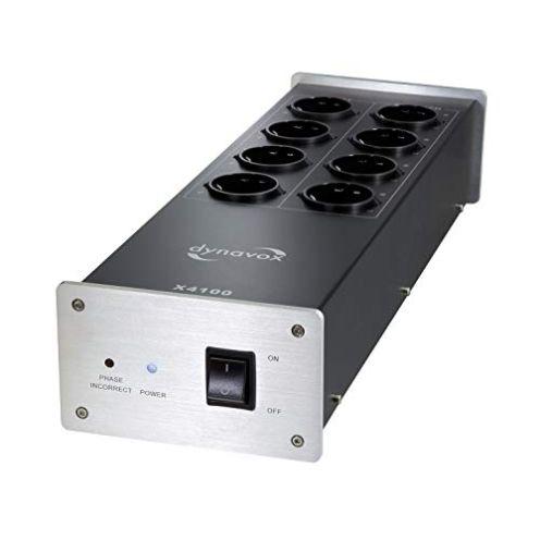 Dynavox HiFi-Netzfilter X4100S Mehrfach-Steckdose