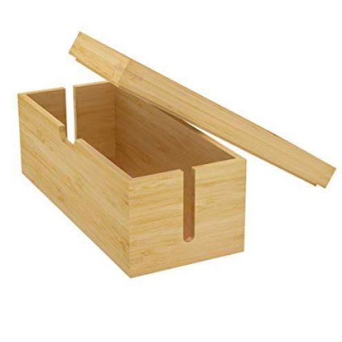 KD Essentials - Bambus Kabelbox